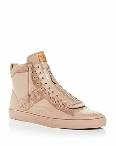 Bally Men's Hekem Leather High-Top Sneakers