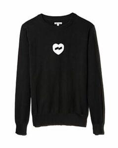 Banks Journal Heart Instarsia Sweater