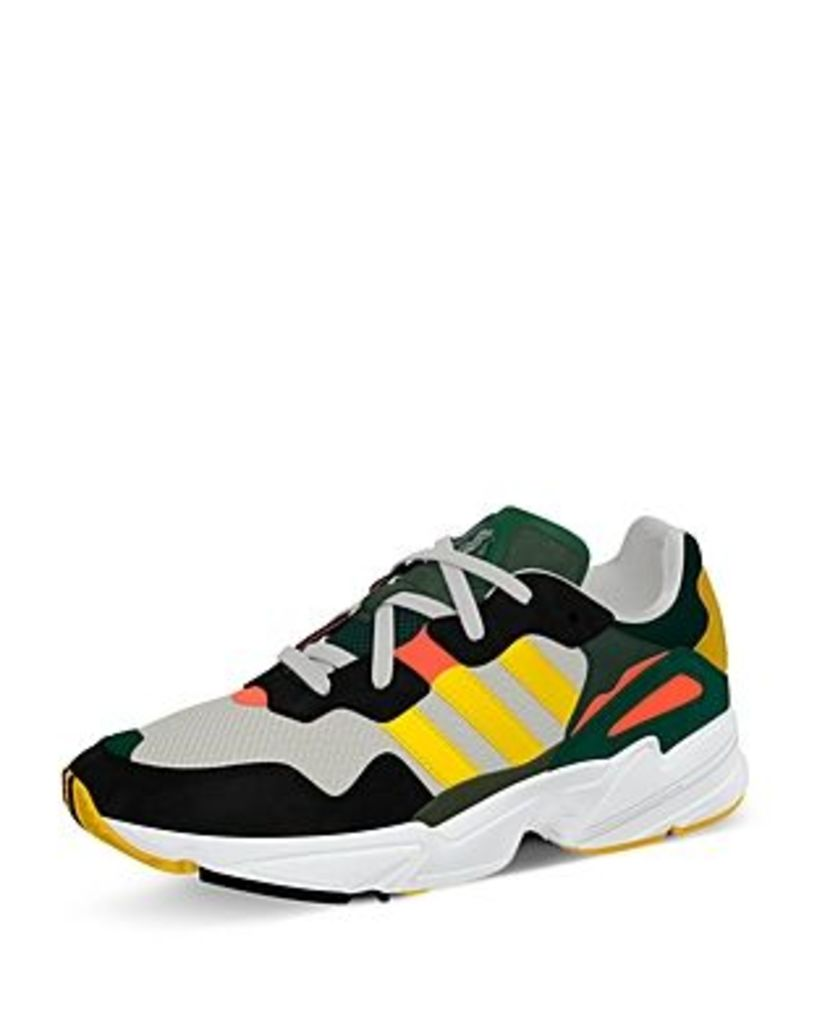 Adidas Mens' Yung-96 Lace-Up Sneakers