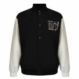 7 Moncler Fragment Mf Logo Bomber Jacket