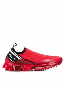 Dolce & Gabbana sorrento melt sneakers - Red