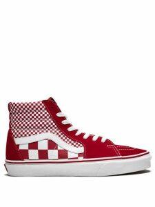Vans Vans Sk8-Hi Mix Checker sneakers - Red