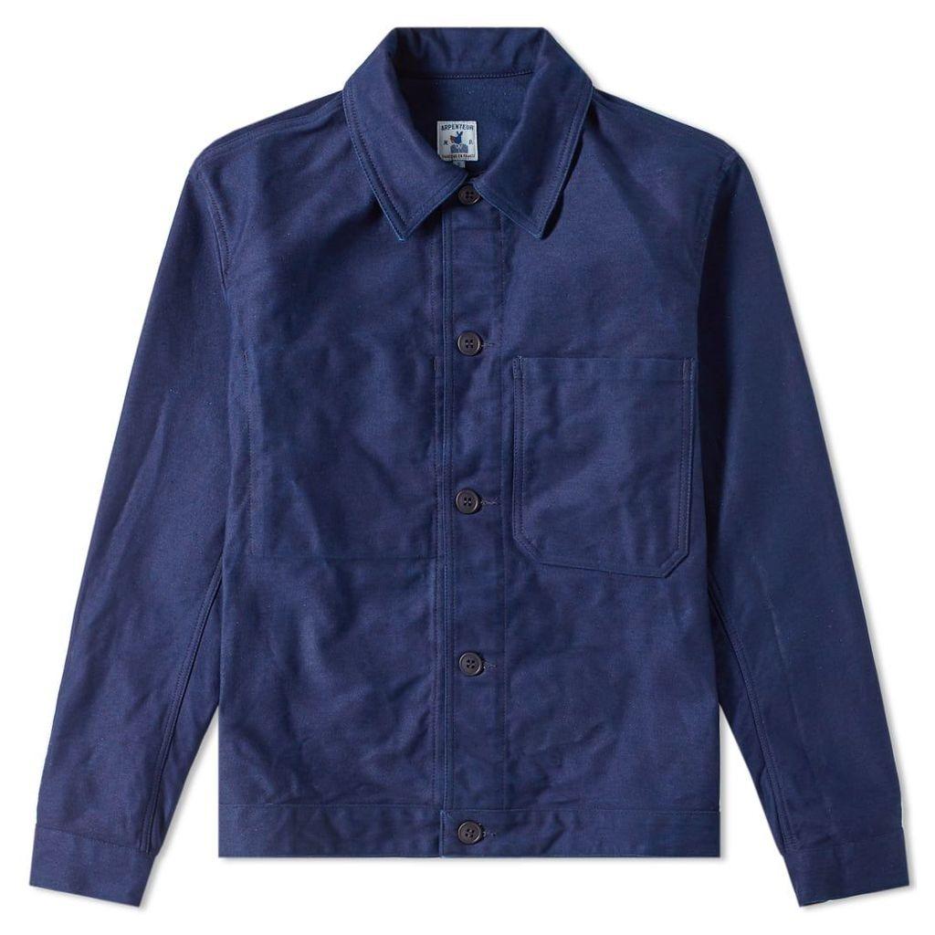 Arpenteur Bison Bleu Eddie Jacket Indigo