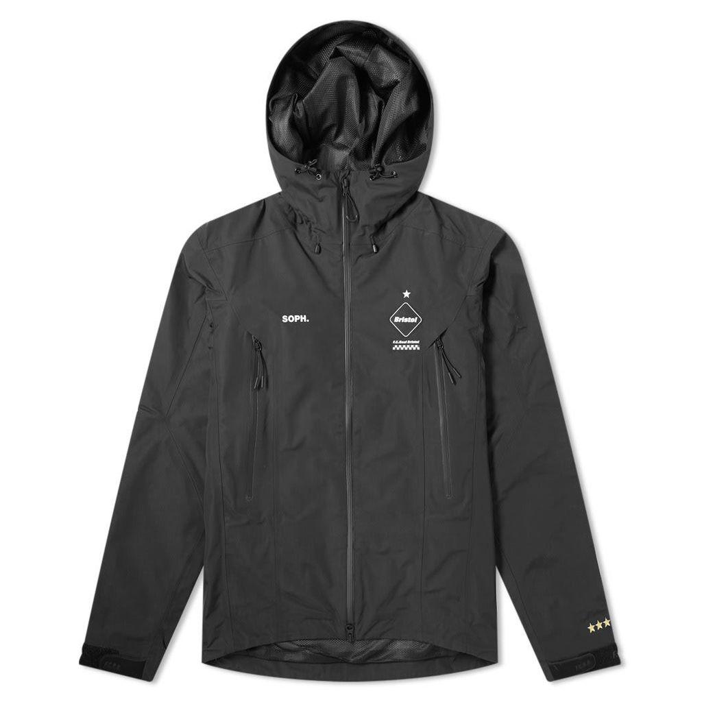 F.C. Real Bristol Tour Jacket Black