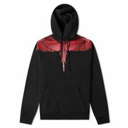 Marcelo Burlon Wings Hoody Black & Multi