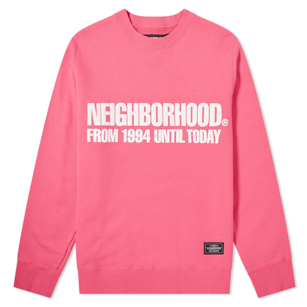 Neighborhood Classic Crew Sweat Pink
