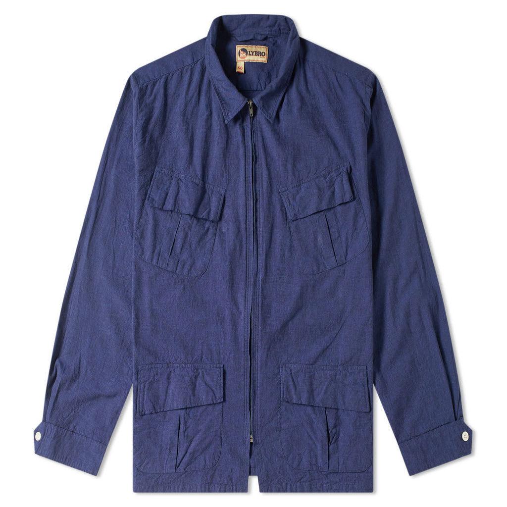 Nigel Cabourn x Lybro Zip Nam Jacket Navy