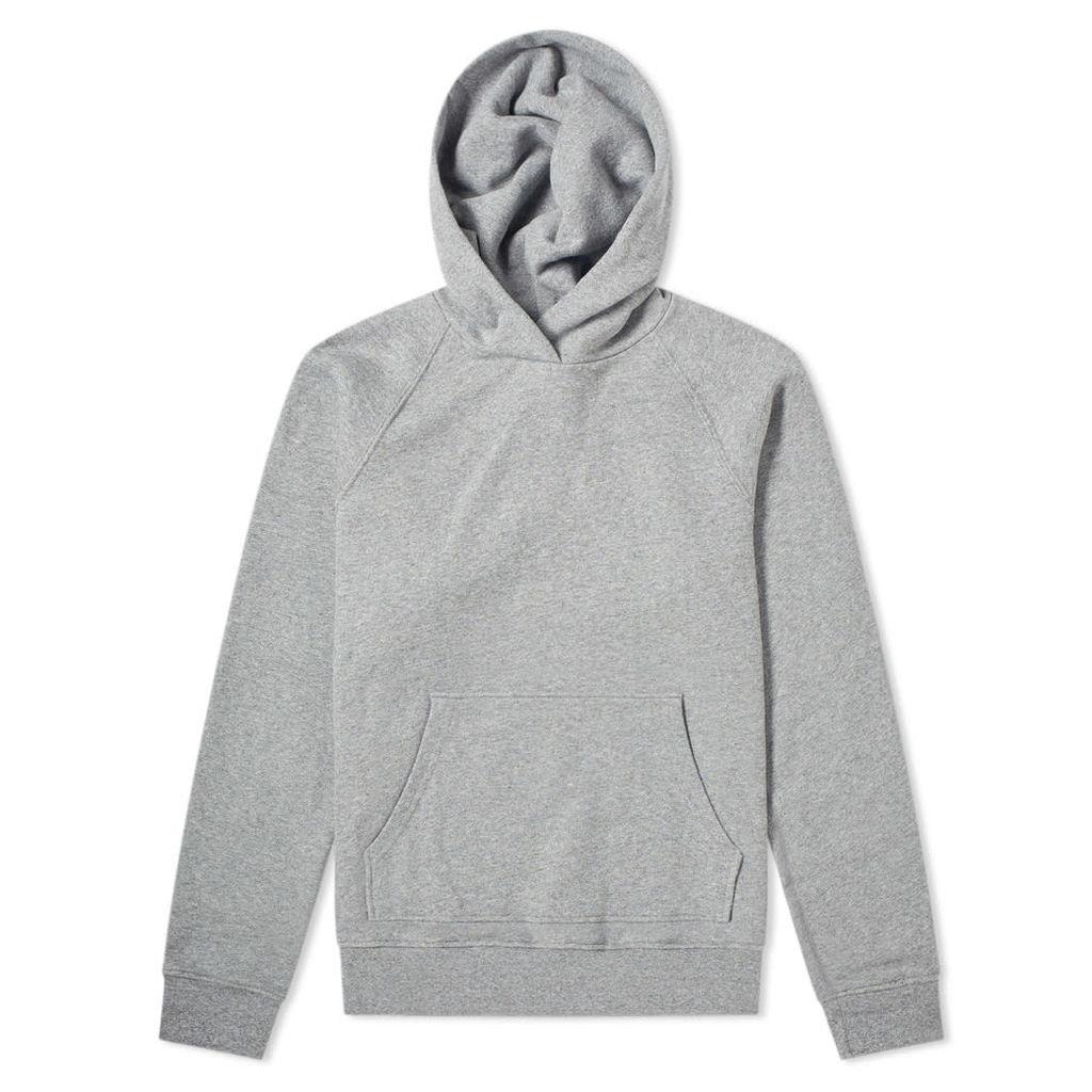 John Elliott Raglan Pullover Hoody Dark Grey