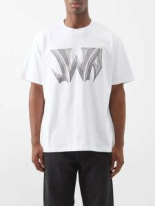 Prada - Belted Mohair Blend Straight Leg Trousers - Mens - Brown