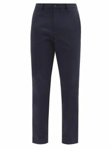 Gucci - Horse Bit Striped Silk Satin Jacket - Mens - Brown Multi