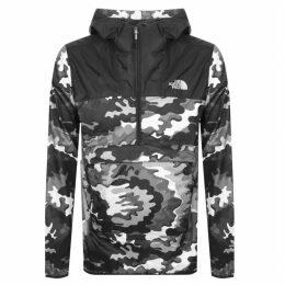 The North Face Novelty Fanorak Camo Jacket Black