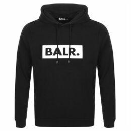 BALR Club Logo Hoodie Black