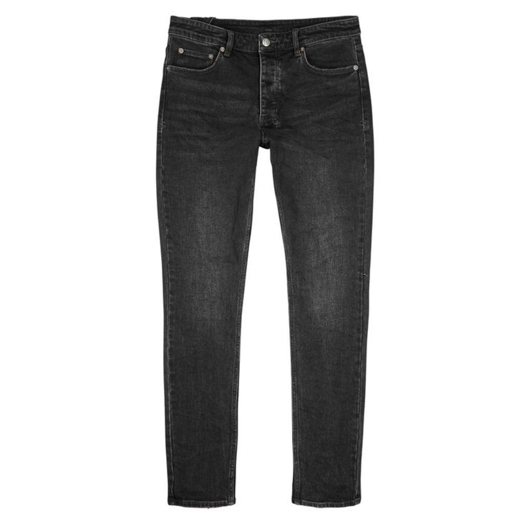 Ksubi Chitch Black Tapered-leg Jeans