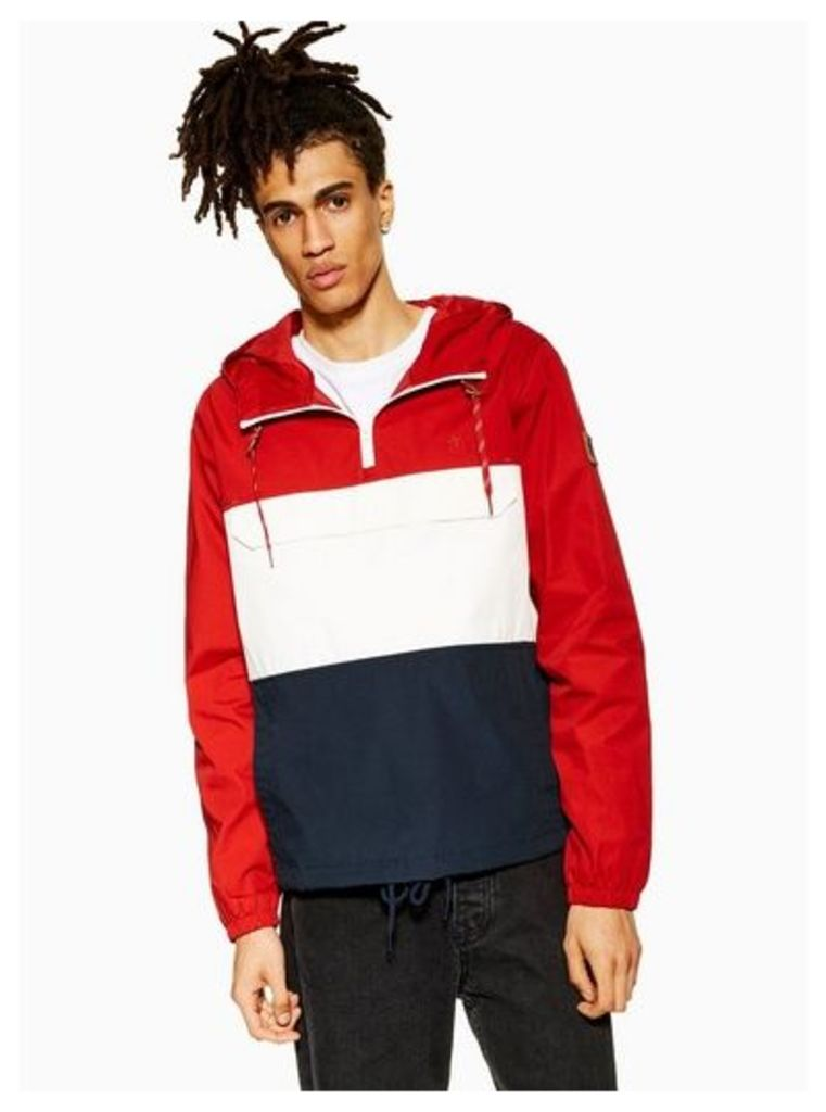 Mens Red Element 'Covert' Jacket, Red