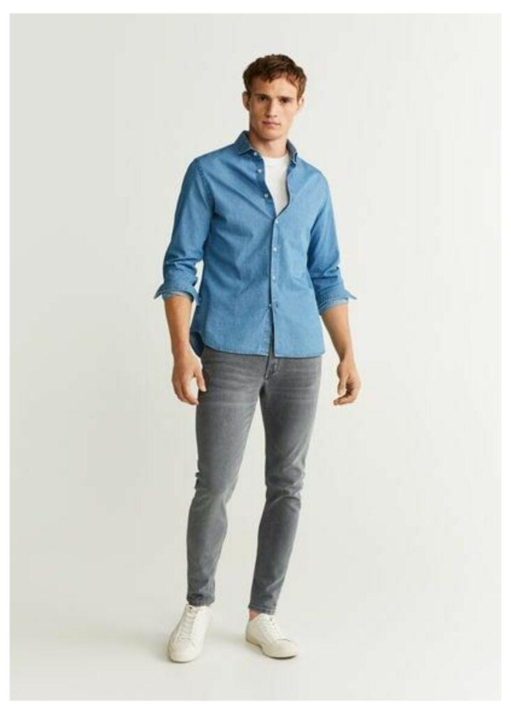 Skinny grey Jude jeans