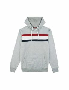 Mens Threadbare Grey Marl Rios Hoodie*, Grey