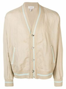 Givenchy Pre-Owned 1980's bomber jacket - Neutrals