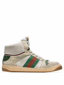 Gucci Virtus hi-top sneakers - Neutrals