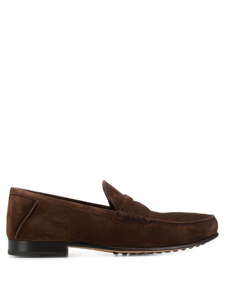 Tod's Galassia loafers - Brown