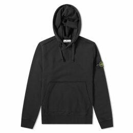 Stone Island Garment Dyed Popover Hoody Black