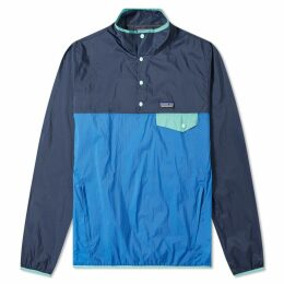 Patagonia Houdini Snap-T Pullover Jacket Port Blue