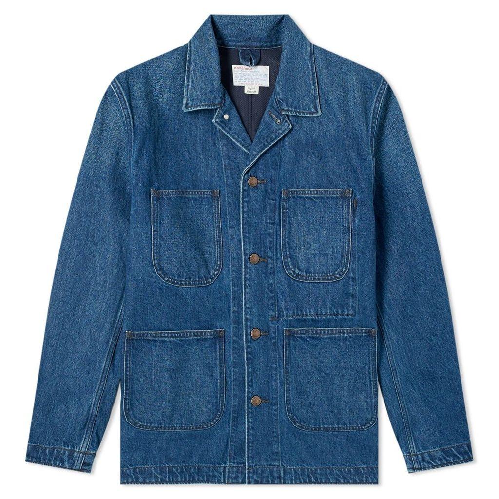 Nanamica Coverall Jacket Indigo
