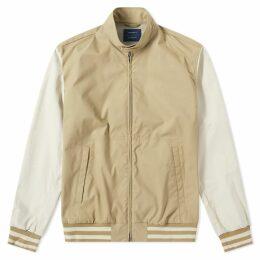 Nanamica x Slowear Varsity Harrington Jacket Sand