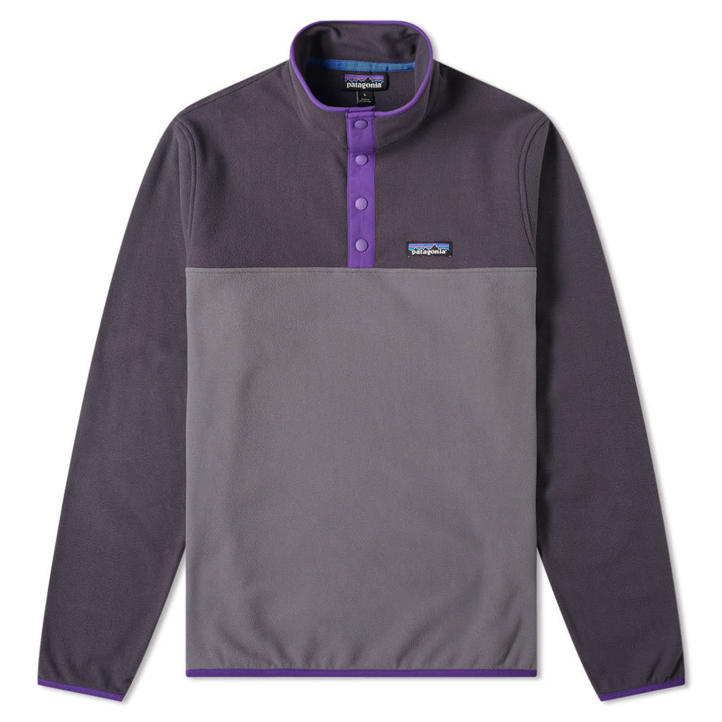 Patagonia Micro D Snap-T Pullover Jacket Forge Grey