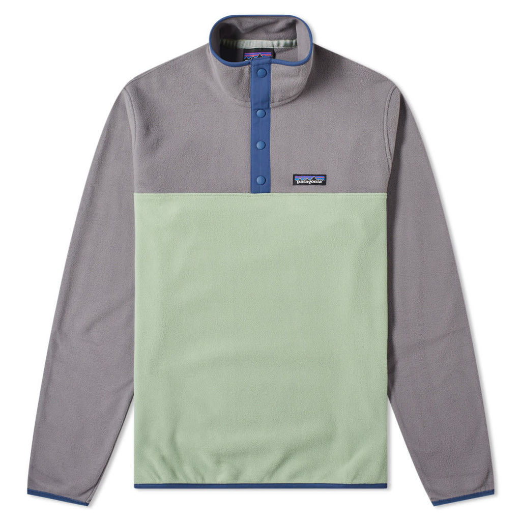 Patagonia Micro D Snap-T Pullover Jacket Matcha Green