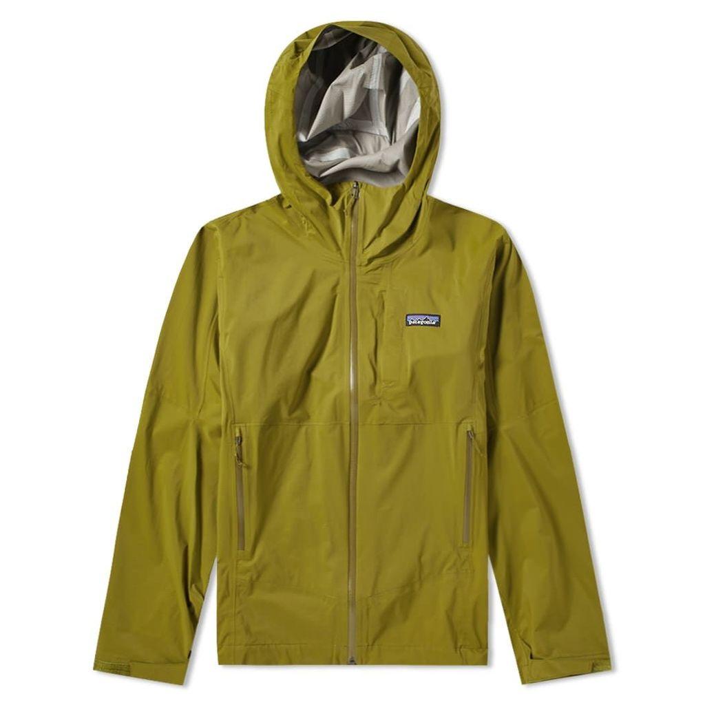 Patagonia Stretch Rainshadow Jacket Willow Herb Green