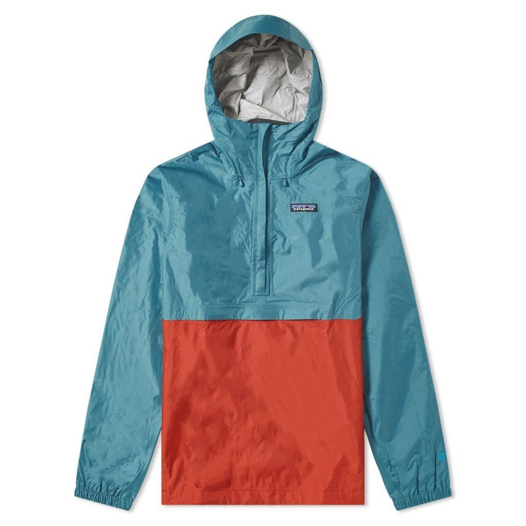Patagonia Torrentshell Pullover Jacket Tasmanian Teal