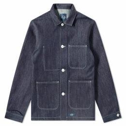 Bleu de Paname Counter Jacket Indigo