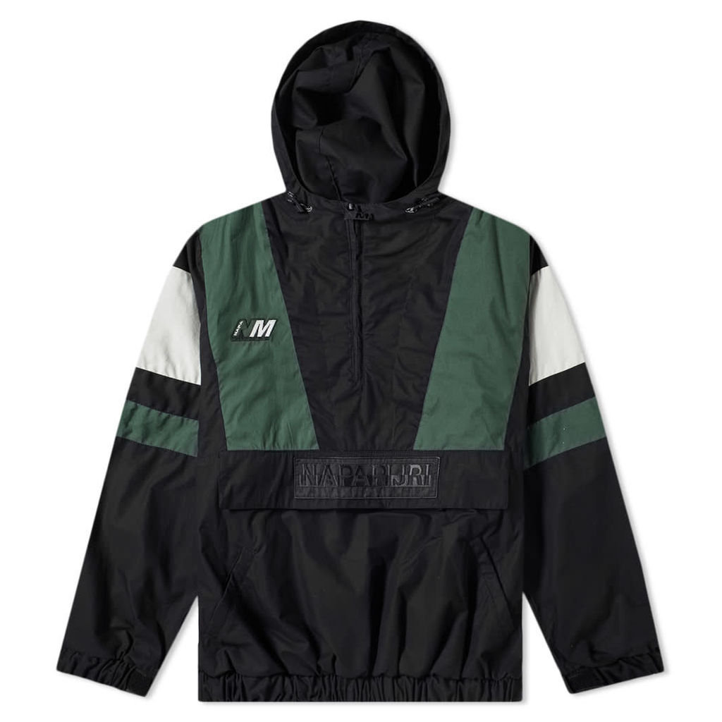 Napa by Martine Rose A-Huez Jacket Black, Green & White