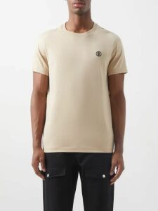 Balmain - Combat Cotton Twill Trousers - Mens - Black