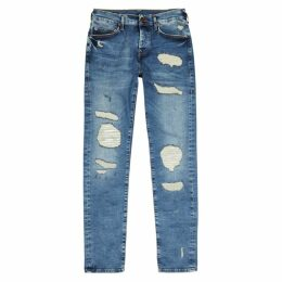 True Religion Rocco Distressed Skinny Jeans