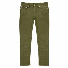 True Religion Rocco Army Green Skinny Jeans