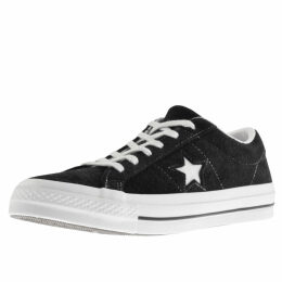 Converse One Star Suede Trainers Black