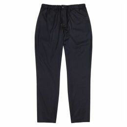 A Kind Of Guise Navy Tapered Wool Trousers