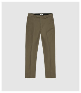 Reiss Westford Slim - Slim Fit Chinos in New Sage, Mens, Size 38L