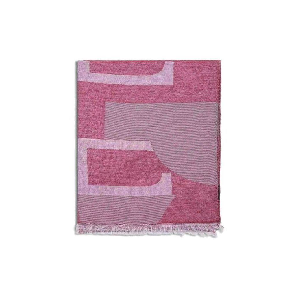 Hackett H Jacquard Cotton And Cashmere Scarf