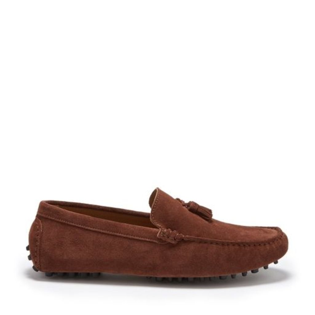 Hugs & Co Loafers Suede Tasselled Driving