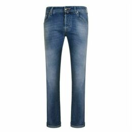 Jacob Cohen Blue Badge Jeans