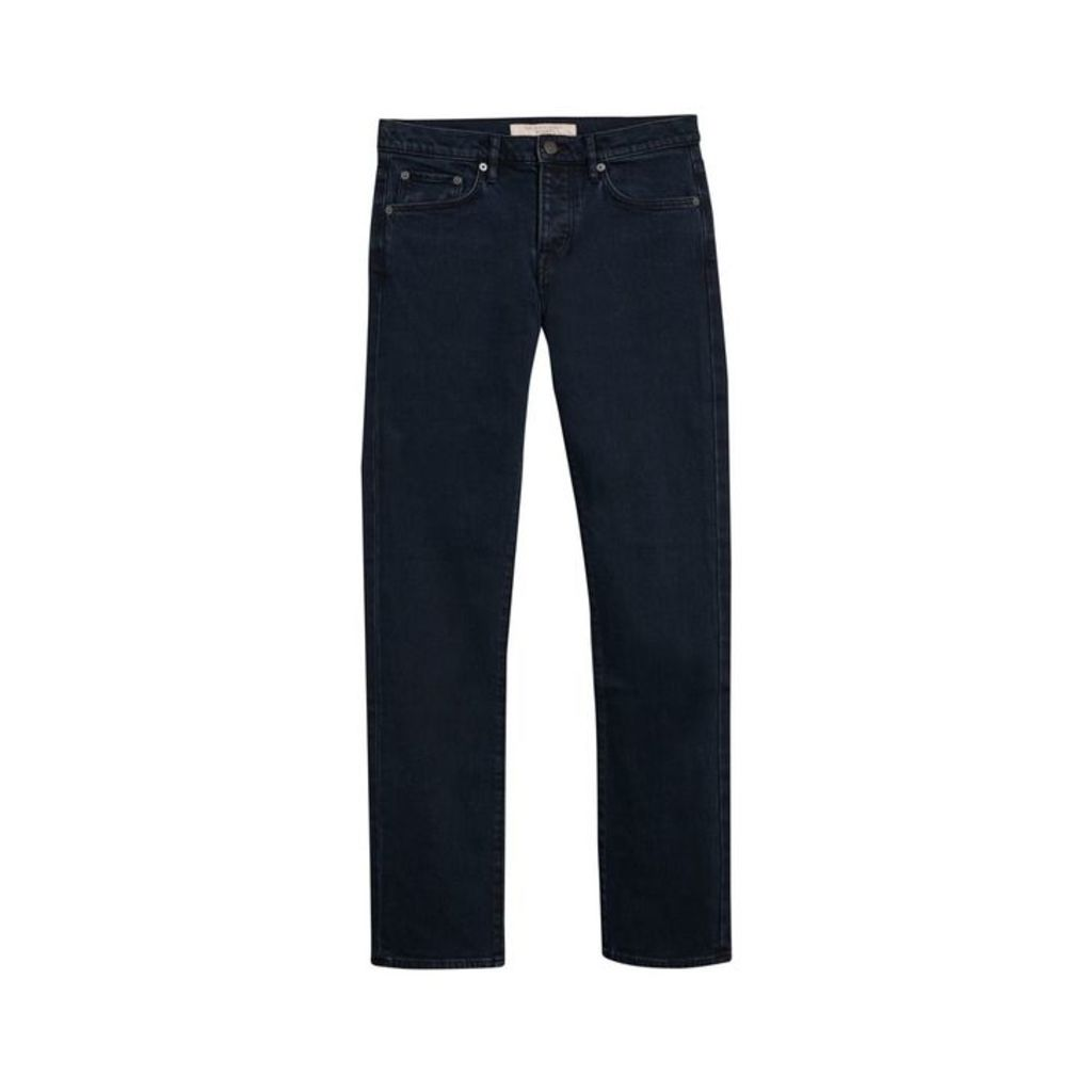 Burberry Straight Fit Stretch Denim Jeans