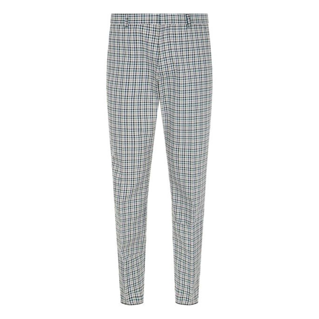 Joseph Ernest Bowling Check Trousers