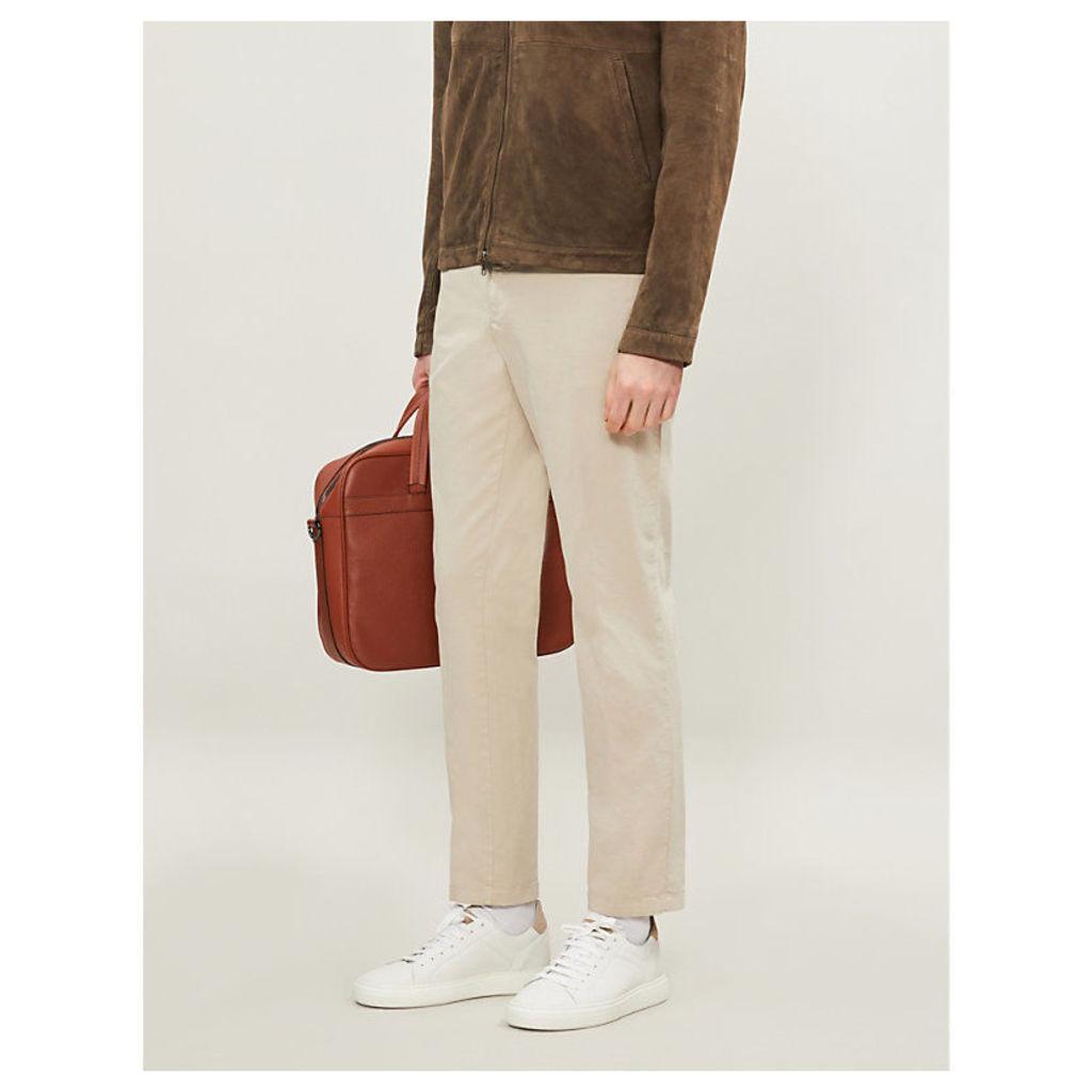 Danwick slim-fit skinny stretch-cotton trousers