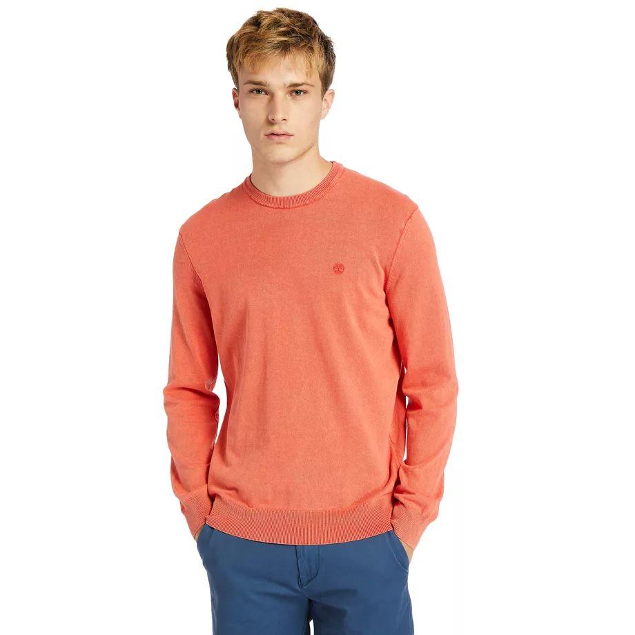 Timberland Jones Brook Crew Neck Merino Sweater For Men In Grey Grey, Size XXL