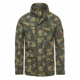 Timberland Ipswich M65 Jacket For Men In Green Camo Green Camo, Size L