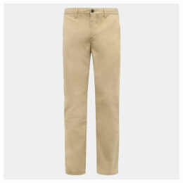 Timberland Squam Lake Twill Chinos For Men In Khaki Khaki, Size 42 32