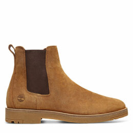 Timberland Folk Gentleman Chelsea Boot For Men In Light Brown Light Brown, Size 9.5
