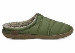 TOMS Light Pine Quilted Men's Berkeley Slippers - Size UK6